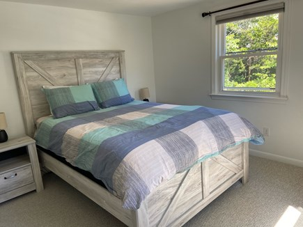 Chatham Cape Cod vacation rental - First floor queen room - spacious and light with Roku TV
