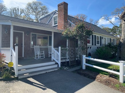 Chatham Cape Cod vacation rental - Gorgeous front patio with rockers - welcome home!