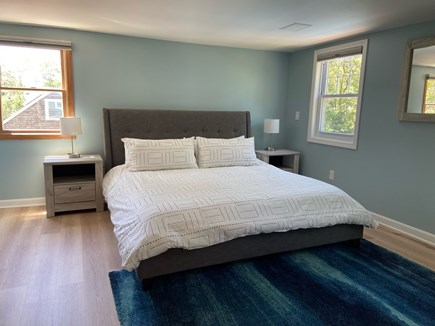 Chatham Cape Cod vacation rental - Upstairs spacious king room with plenty of room with Roku TV