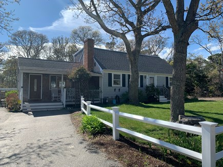 Chatham Cape Cod vacation rental - Front of the house. Two rocking chairs