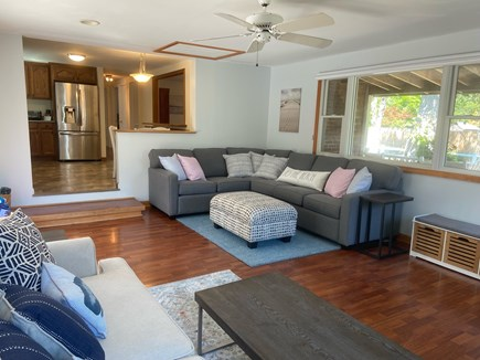 Chatham Cape Cod vacation rental - Couch seating for everyone in the spacious great room.