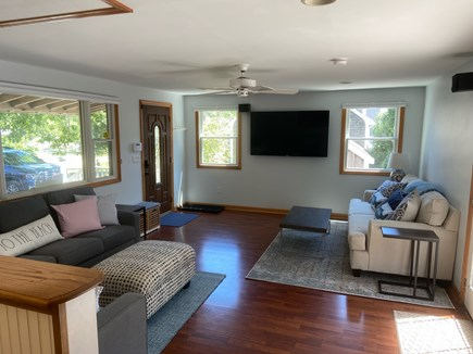 Chatham Cape Cod vacation rental - Open floor plan from kitchen to living room so everyone has fun!