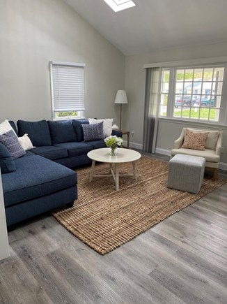 South Yarmouth Cape Cod vacation rental - Living room with lots of natural light.