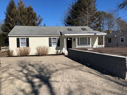 South Yarmouth Cape Cod vacation rental - Front View of Home, driveway with lots of parking.