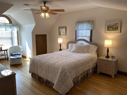 North Falmouth Cape Cod vacation rental - Upstairs Queen with TV