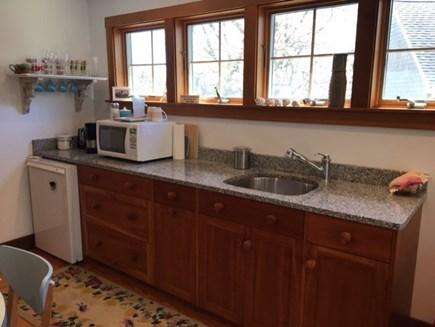Eastham Cape Cod vacation rental - 10' custom cherry kitchenette