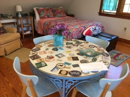 Eastham Cape Cod vacation rental - Dining table