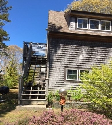 Eastham Cape Cod vacation rental - Outside stairs to the studio apartment