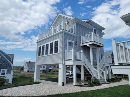 West Yarmouth Cape Cod vacation rental - Newly built upscale beach home 60 yards to Colonial Acres beach!