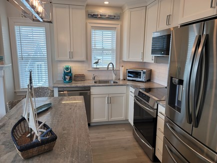 West Yarmouth Cape Cod vacation rental - A chef's dream kitchen with induction stove