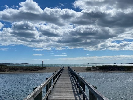 West Yarmouth Cape Cod vacation rental - Boardwalk to Colonial Acres Beach just steps away