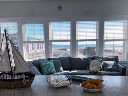 West Yarmouth Cape Cod vacation rental - Enjoy ocean views while making a snack
