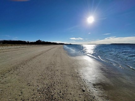 West Yarmouth Cape Cod vacation rental - Morning walks on Colonial Acres Beach
