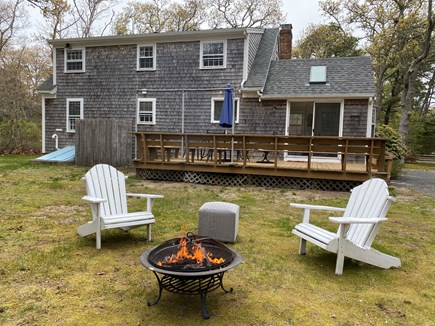 Brewster Cape Cod vacation rental - Enjoy a relaxing summer evening making s'mores