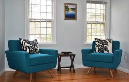 Brewster Cape Cod vacation rental - Sitting area in master bedroom
