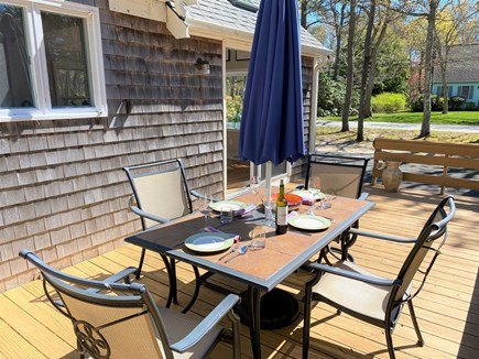 Brewster Cape Cod vacation rental - Have a leisurely dinner with family and friends