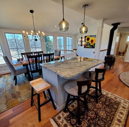 Eastham Cape Cod vacation rental - View from kitchen