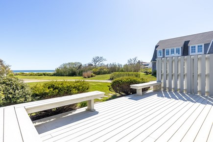 Orleans Cape Cod vacation rental - Deck area