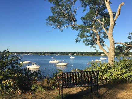Falmouth, Maravista Neighborhood  Cape Cod vacation rental - Enjoy your morning coffee while taking in the gorgeous view.