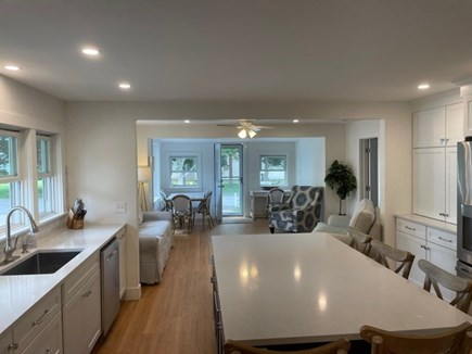 Falmouth, Maravista Neighborhood  Cape Cod vacation rental - Everything new! Hidden behind here is a closet w/washer & dryer