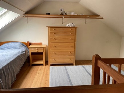 Falmouth, Maravista Neighborhood  Cape Cod vacation rental - Loft/3rd bedroom. One twin and one queen bed. Kids love it!