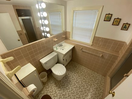 Falmouth Cape Cod vacation rental - First full bathroom.