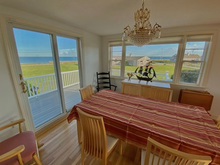 Falmouth Cape Cod vacation rental - View of Vineyard Sound from your kitchen table.