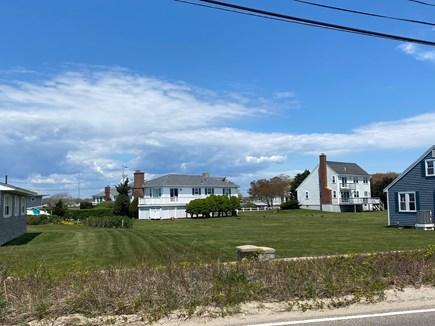 Falmouth Cape Cod vacation rental - A massive yard that borders the Falmouth Coast line.