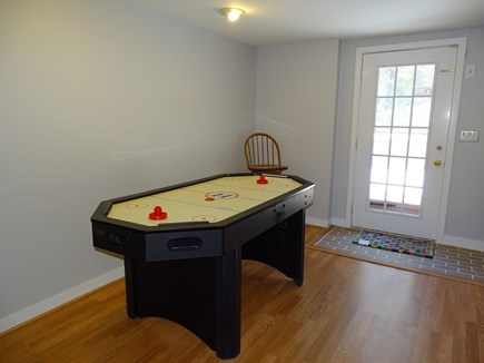 Chatham Cape Cod vacation rental - Walk-out basement offers air hockey