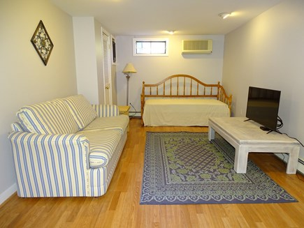 Chatham Cape Cod vacation rental - Lower level walk out basement with trundle bed, TV