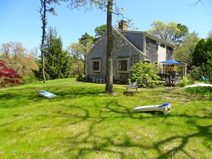 Chatham Cape Cod vacation rental - Spacious side yard - great for yard games