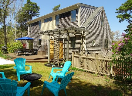 Chatham Cape Cod vacation rental - Several seating areas, plus huge side yard with lawn games