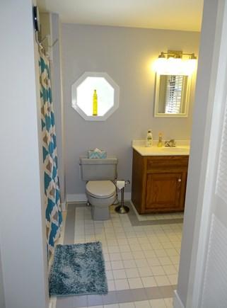 Chatham Cape Cod vacation rental - Main floor full bathroom with tub, laundry area
