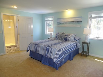 Chatham Cape Cod vacation rental - Upstairs queen master opens to newly refinished full bath