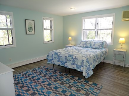 Chatham Cape Cod vacation rental - First floor queen bedroom with new floors