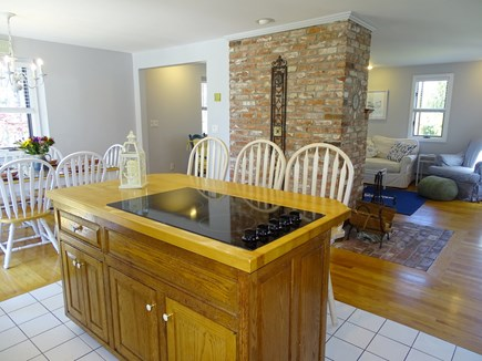 Chatham Cape Cod vacation rental - View of open living, dining and kitchen areas