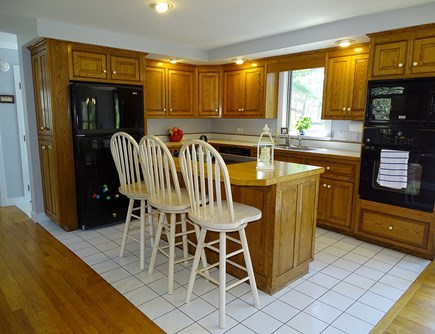 Chatham Cape Cod vacation rental - Kitchen with all appliances, breakfast bar