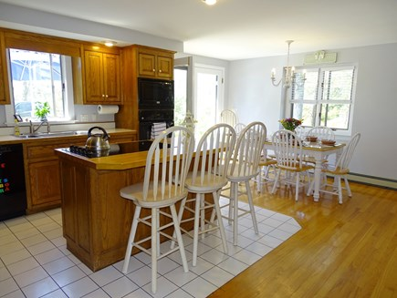 Chatham Cape Cod vacation rental - Open kitchen and dining area