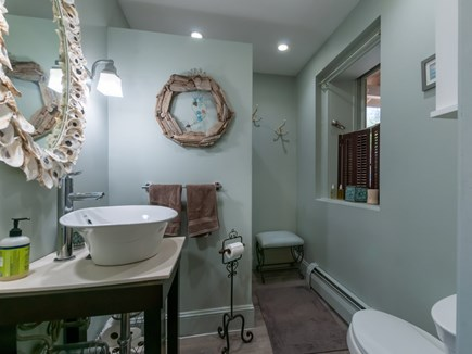 Sandwich Cape Cod vacation rental - Full Bath with shower on main level.