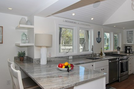 Dennis Cape Cod vacation rental - Stunning kitchen will be sure to inspire the chef in you