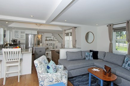 Dennis Cape Cod vacation rental - Open concept living room/dining room and kitchen area