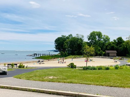 Kingston, Grays Beach MA vacation rental - Steps to beach