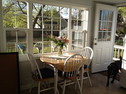 Kingston, Grays Beach MA vacation rental - Sunny kitchen