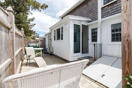 Dennisport Cape Cod vacation rental - Back patio