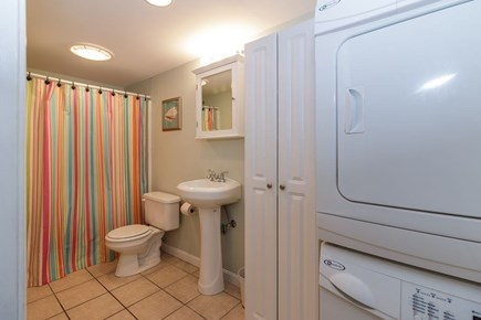 Dennisport Cape Cod vacation rental - Clean, updated bathroom and laundry