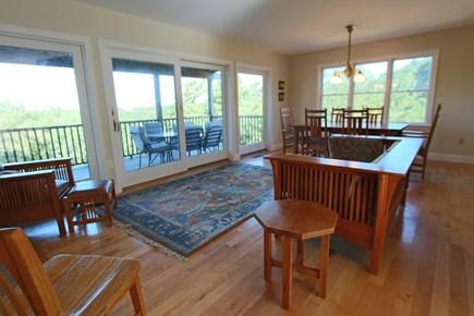 Truro Cape Cod vacation rental - Living Room  - 1st Floor