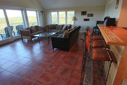 Truro Cape Cod vacation rental - Living Room on Second Floor