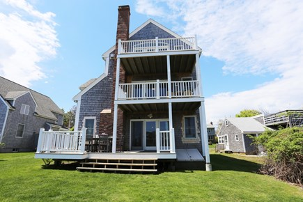 Sandwich Cape Cod vacation rental - Back of House