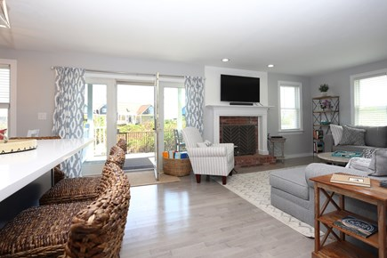 Sandwich Cape Cod vacation rental - Living Room/Dining Area