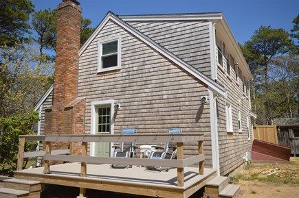 Eastham Cape Cod vacation rental - Deck entrance to the main level